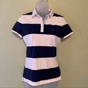 Tommy Hilfiger Striped Polo, Size Small